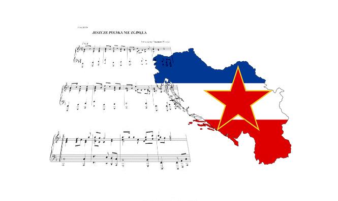 Polski hymn Jugosławii